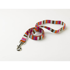 Yellow Dog Design Multi Stripe Circles Dog Lead 48
