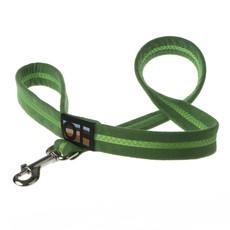 Oscar & Hooch Suedette Apple Green Dog Lead Small