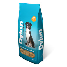 Dylan Complete Food For Working Dogs With Chicken And Rice 12kg
