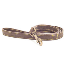 Ancol Heritage Timberwolf Leather Sable Dog Lead 100cm