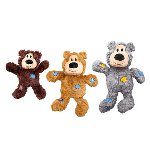 Kong Wild Knots Bears Tough Dog Toy M/l