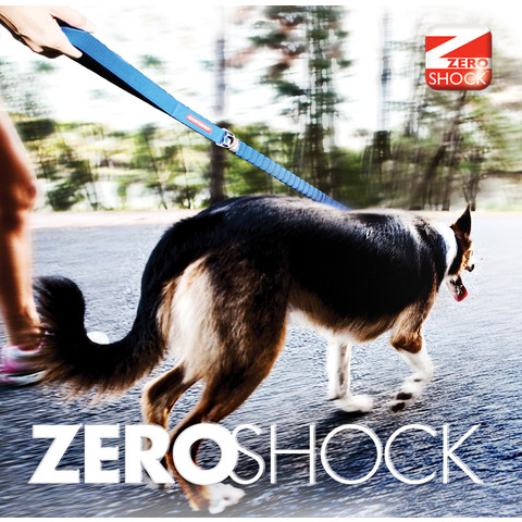Ezy Dog Zero Shock Black Dog Lead 48 Inch