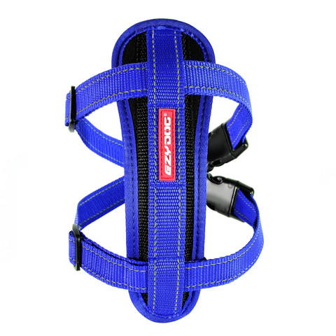 Ezy Dog Blue Chest Plate Dog Harness Large