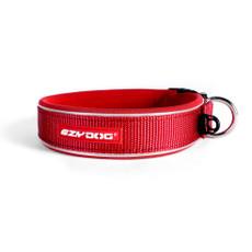 Ezy Dog Red Neo Dog Collar Medium