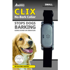 The Company Of Animals Clix No Bark Vibrate And Sound Dog Collar Small