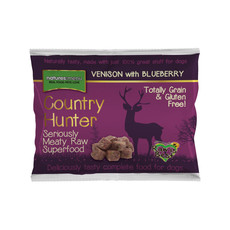 Natures Menu Country Hunter Frozen Raw Dog Food Nuggets With Venison & Blueberries 1kg