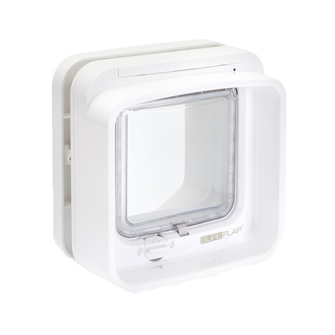 Sureflap White Dualscan Microchip Cat Flap