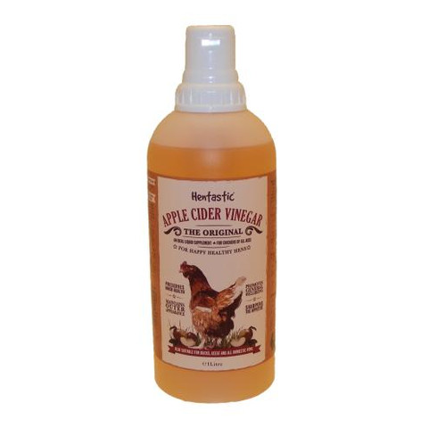 Hentastic Apple Cider Vinegar For Poultry 1 Litre