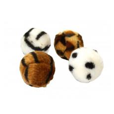 Happy Pet Fuzzeez Balls Cat Toy