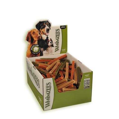 Whimzees Stix 120mm Dental Dog Chew Treat Small To 150 X Small