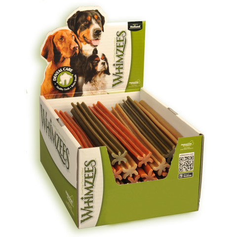 Whimzees Stix 240mm Dental Dog Chew Treat X Large To 30 X X Large
