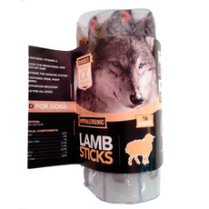 Alpha Spirit Grain Free Lamb Sticks Natural Dog Treat 16 Pack