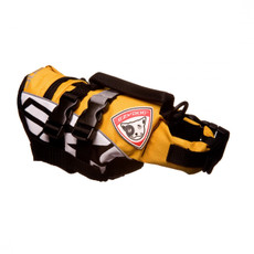 Ezy Dog Micro Dog Floatation Life Jacket In Yellow Xs