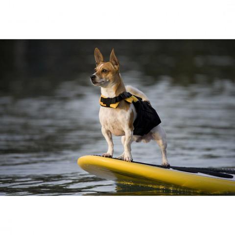Ezy Dog Micro Dog Floatation Life Jacket In Yellow Xs