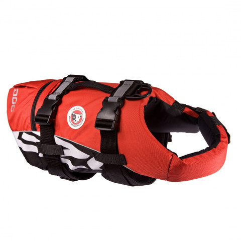 Ezy Dog Dog Floatation Life Jacket In Red Medium