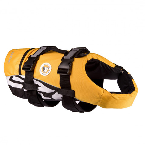 Ezy Dog Dog Floatation Life Jacket In Yellow Xs