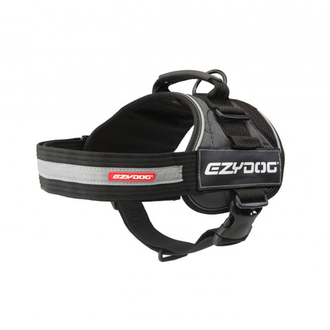 Ezy Dog Convert Utility Dog Harness In Charcoal X Small