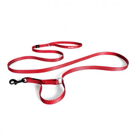 Ezy Dog Vario Lite 4 Multi Function Dog Lead In Red