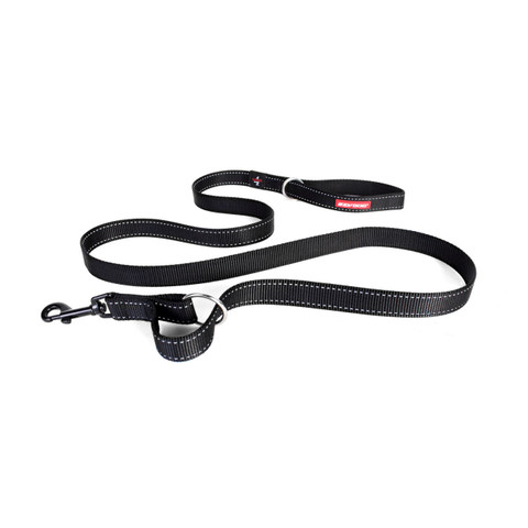 Ezy Dog Vario 6 Multi Function Dog Lead In Black With Snap Clip