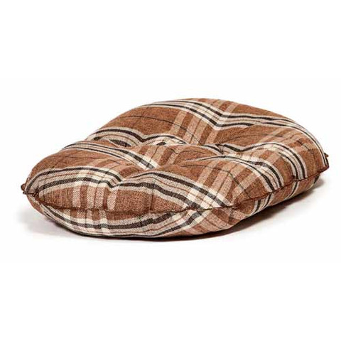 Danish Design Newton Truffle Luxury Quilted Mattress Dog Bed 89cm