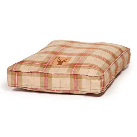 Danish Design Newton Moss Luxury Box Duvet Dog Bed 125x79cm
