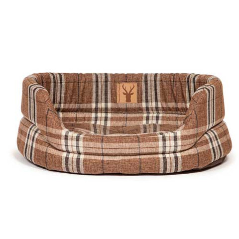 Danish Design Newton Truffle Luxury Slumber Dog Bed 89cm