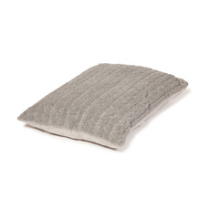 Danish Design Bobble Pewter Sherpa Fleece Deep Duvet Dog Bed 71x98cm