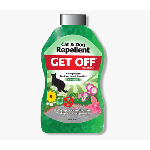 Get Off My Garden Cat And Dog Repellent Garden Scatter Crystals 460g