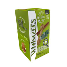 Whimzees Assorted Variety Value Pack Dental Treats For Small Dogs 48 Pack