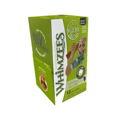 Whimzees Assorted Variety Value Pack Dental Treats For Large Dogs 12 Pack