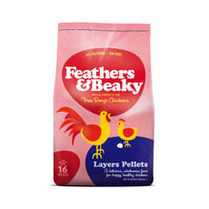 Feathers & Beaky Layers Pellets Poultry Feed 15kg