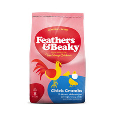 Feathers & Beaky Chick Crumbs Poultry Feed 4kg