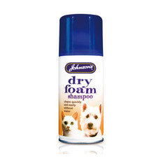 Johnsons Dry Foam Shampoo For Dogs And Cats 150ml
