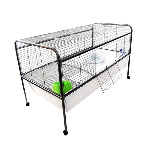 Liberta Retreat 150 Rabbit & Guinea Pig Indoor Cage On Wheels