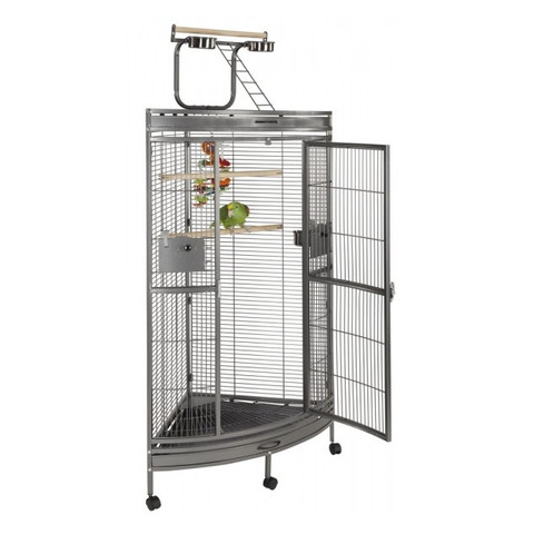 Liberta Discovery Large Parrot Bird Cage With Play Gym