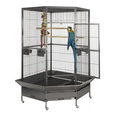Liberta Raleigh Large Corner Parrot Cage