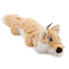 Ancol Rope Filled Fox Plush Dog Toy Large