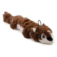 Ancol Rope Filled Squirrel Plush Dog Toy Large