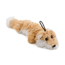 Ancol Rope Filled Fox Plush Dog Toy Small