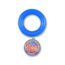 Happy Pet Rubber Ring Dog Toy 6in