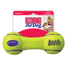 Kong Airdog Squeakers Dumbbell Dog Toy Medium
