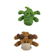 Kong Cozie Brights Soft And Cuddly Dog Toy Medium