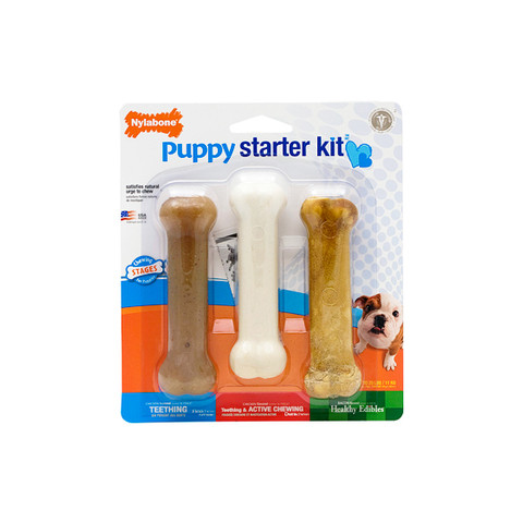 Nylabone Puppy Teething Starter Kit