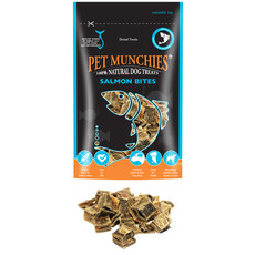 Pet Munchies Wild Salmon Bites Dog Treats 90g