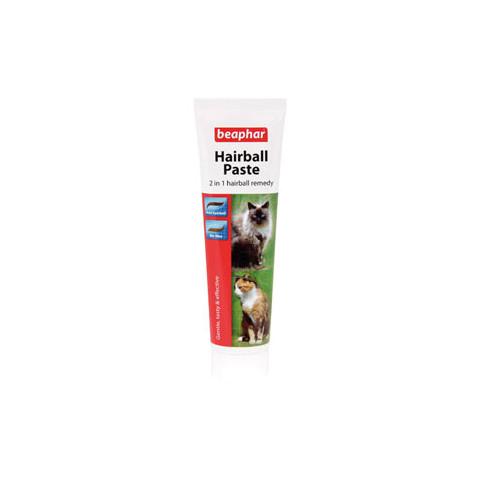Beaphar 2 In 1 Hairball Paste For Cats 100g