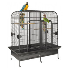 Liberta Endeavour Large Parrot Bird Cage With Central Divider