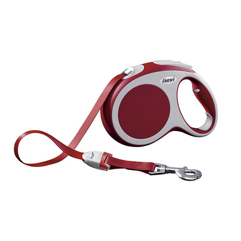 Flexi Vario Retractable Tape Dog Lead Red - 5 Metres Large
