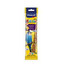 Vitakraft Kracker Budgie Stick Treats With Apricot And Fig 60g To 7 X 60g