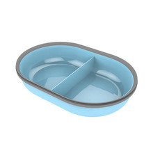Surefeed Split Feeder Bowl Blue
