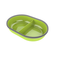 Surefeed Split Feeder Bowl Green